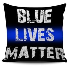Blue Lives Matter Pillow Covers
