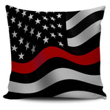 Thin Red Line Pillow Cover