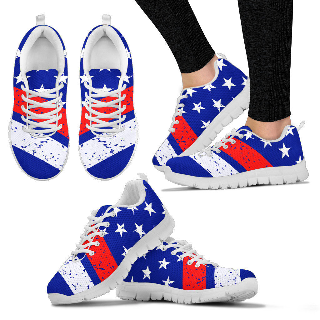 Women's OLD GLORY USA Sneakers