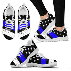 Women's Thin Blue Line Sneakers