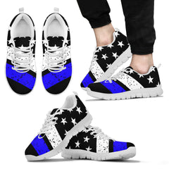 Men's Thin Blue Line Sneakers