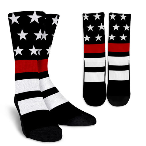Thin Red Line Socks