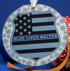 Blue Lives Matter Christmas