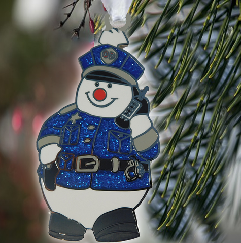 Frosty The Policeman