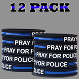 Pray For Police Wristbands