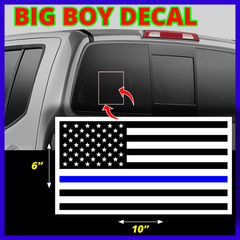 BIG BOY DECAL