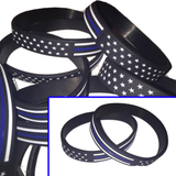 Police Stars N' Stripes Wristbands