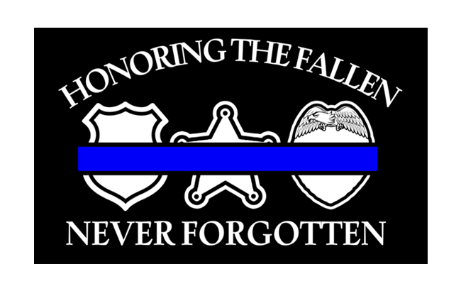 Honoring The Fallen Decal