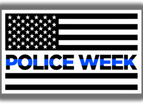 Police Week Decal
