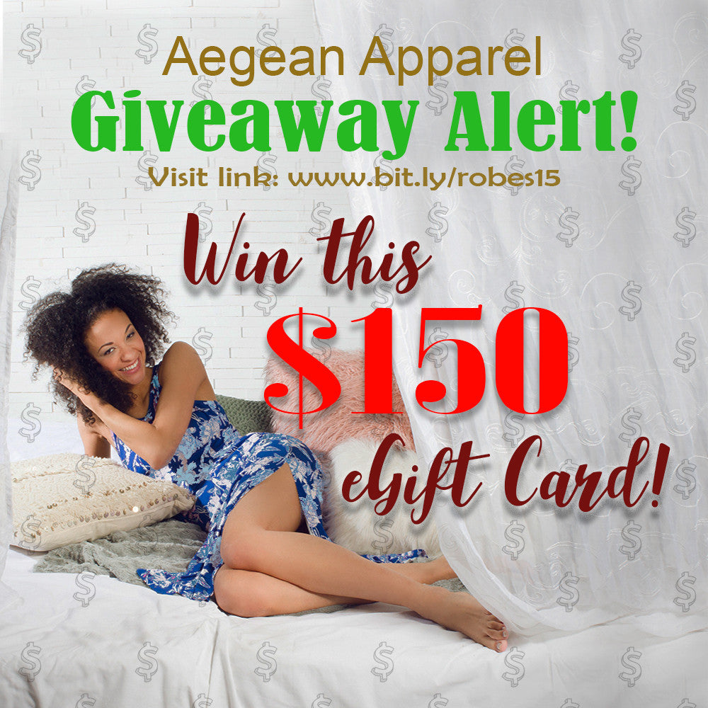 AegeanApparel.com - $150 eGift Card Mother's Day Giveaway