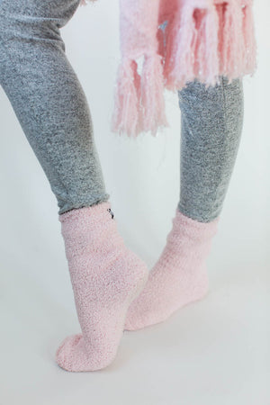 Cozy Sparkle Gift Set in Light Pink