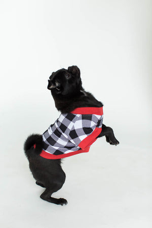 Buffalo Plaid Pet Tee