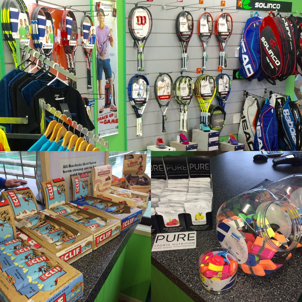 Welcome to the new Inspire Tennis Pro Shop!