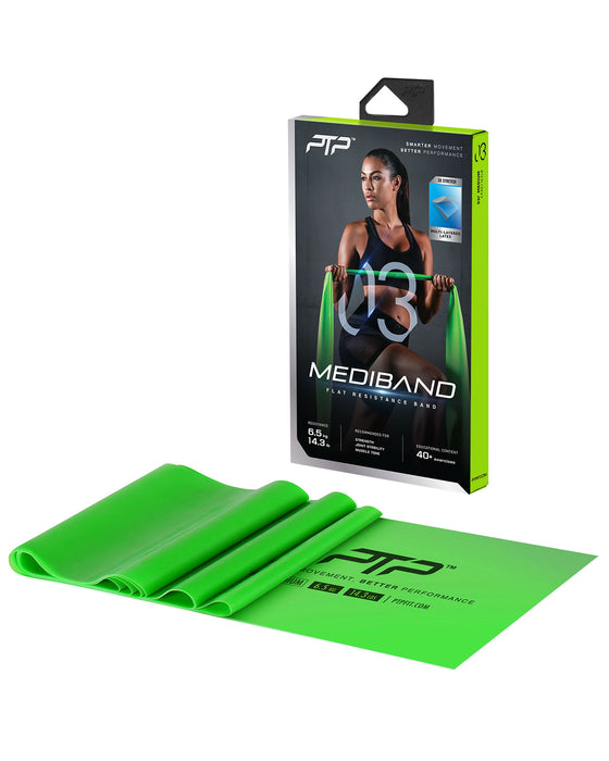PTP Mediband+ Medium Green