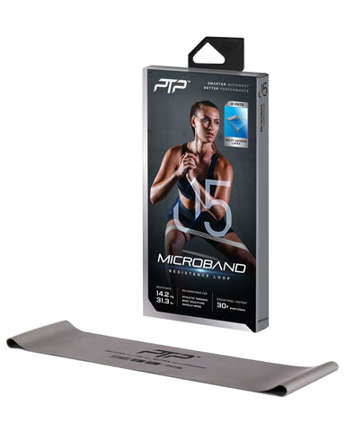 PTP Microband Ultimate Silver
