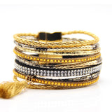 France brand brazilian bracelets femme new fashion jewelry Bohemian magnetic braclets for women vintage jewelry bijoux