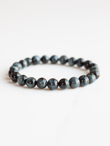 Blue Tiger's Eye Bracelet