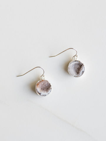 Celestial Agate Earrings