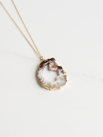 Celestial Agate Necklace