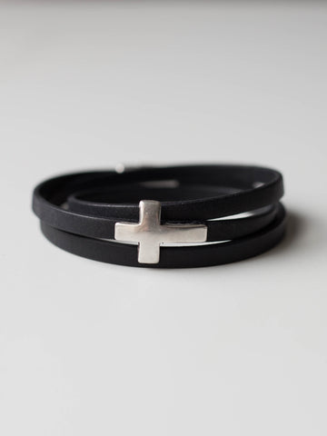 Cross Wrap Bracelet