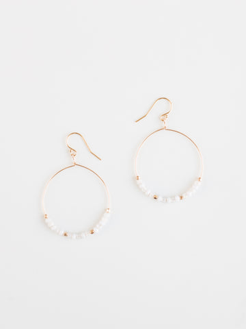 Empire Hoop Earrings