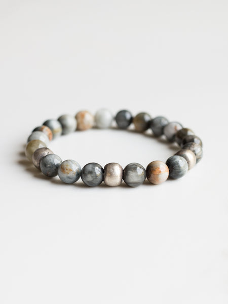 Grey Tiger's Eye Bracelet
