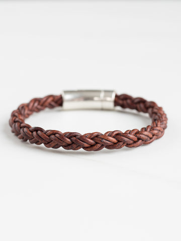 Distressed Braided Bracelet