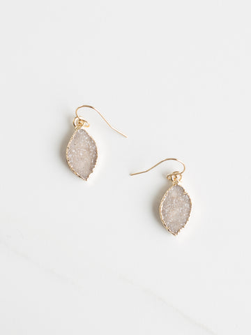 Mini Druzy Earrings