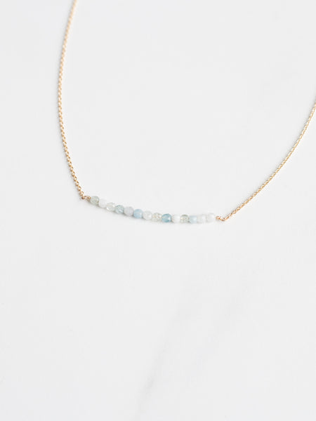 Sparkler Bar Necklace