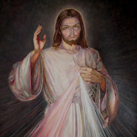 DnA Divine Mercy Painting