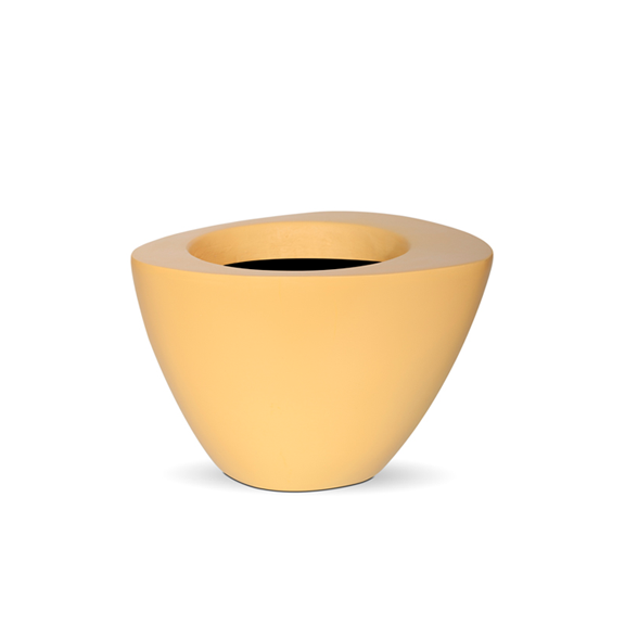CAPI Orchid Planter - CITRON YELLOW