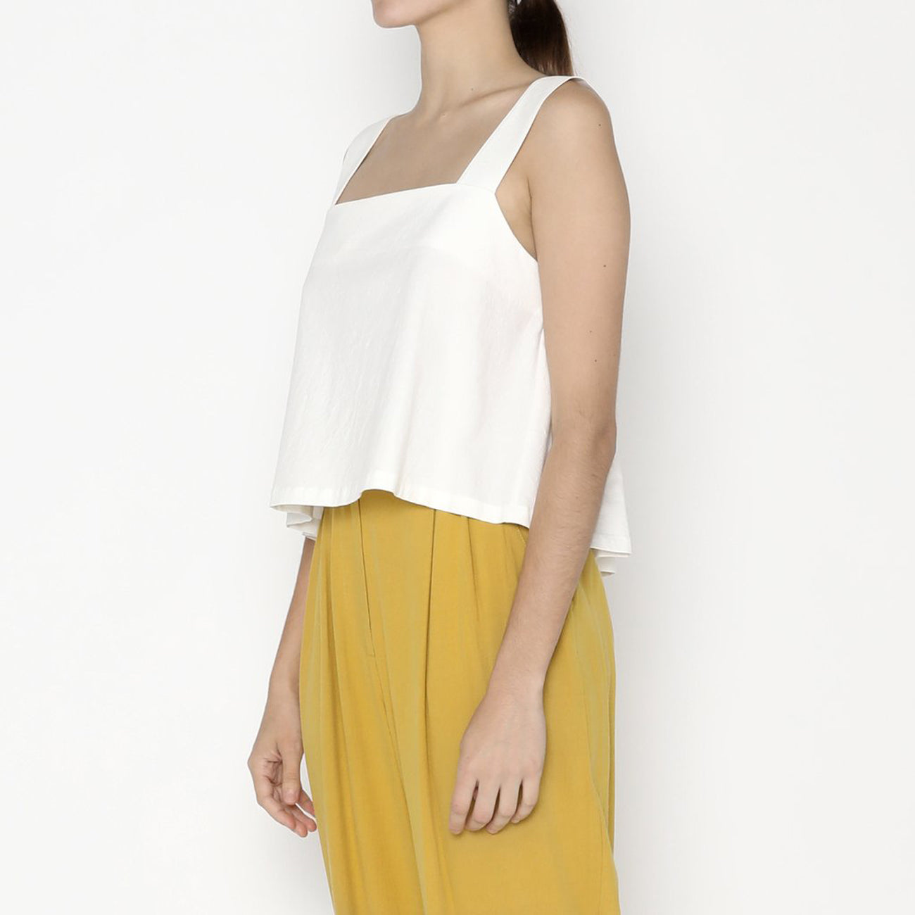 summer sun top in off-white