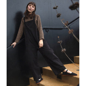 overall jumper in black