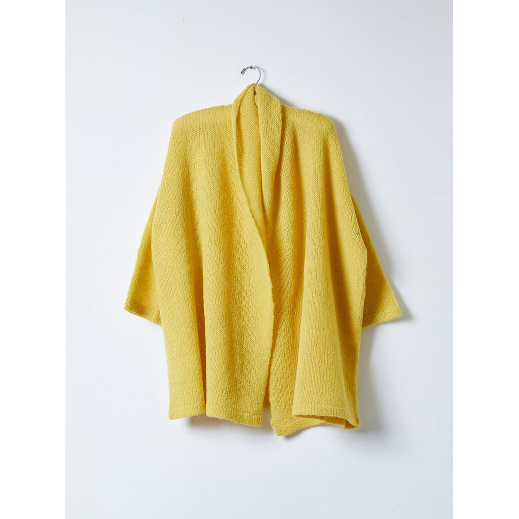 loose knit haori in dijon