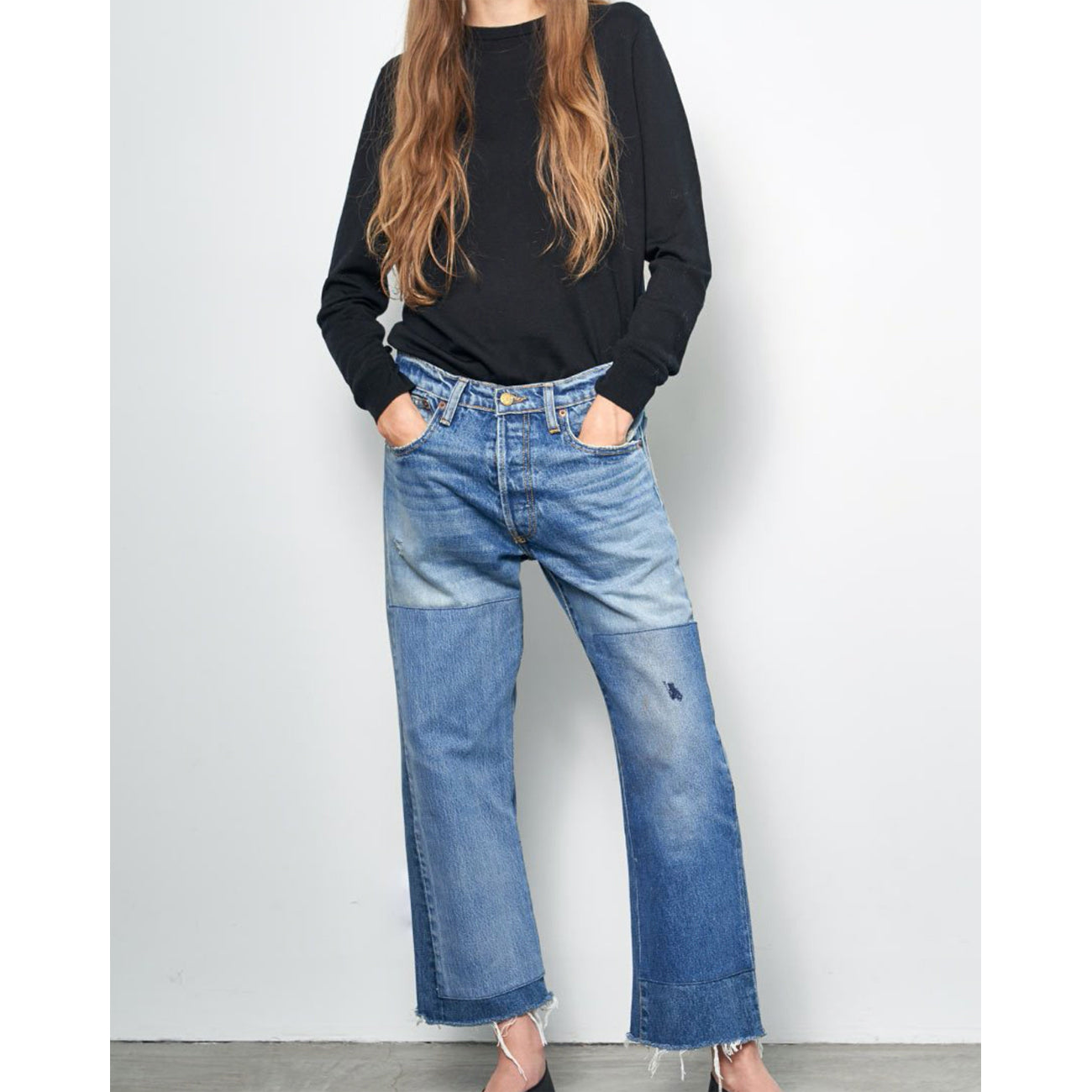marcel relaxed straight jean