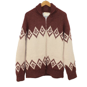 1950's hand knit cowichan sweater