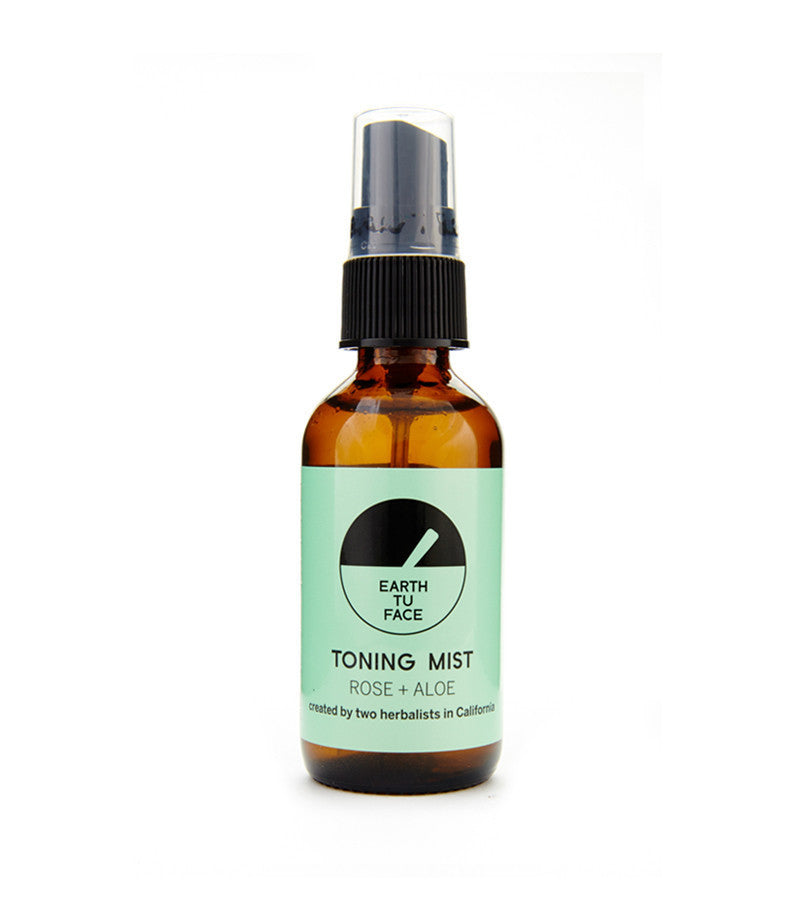 earth tu face toning mist