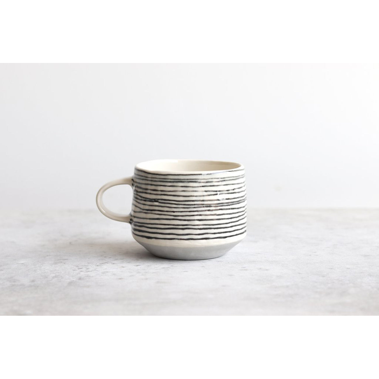 ebb & flow striped mug