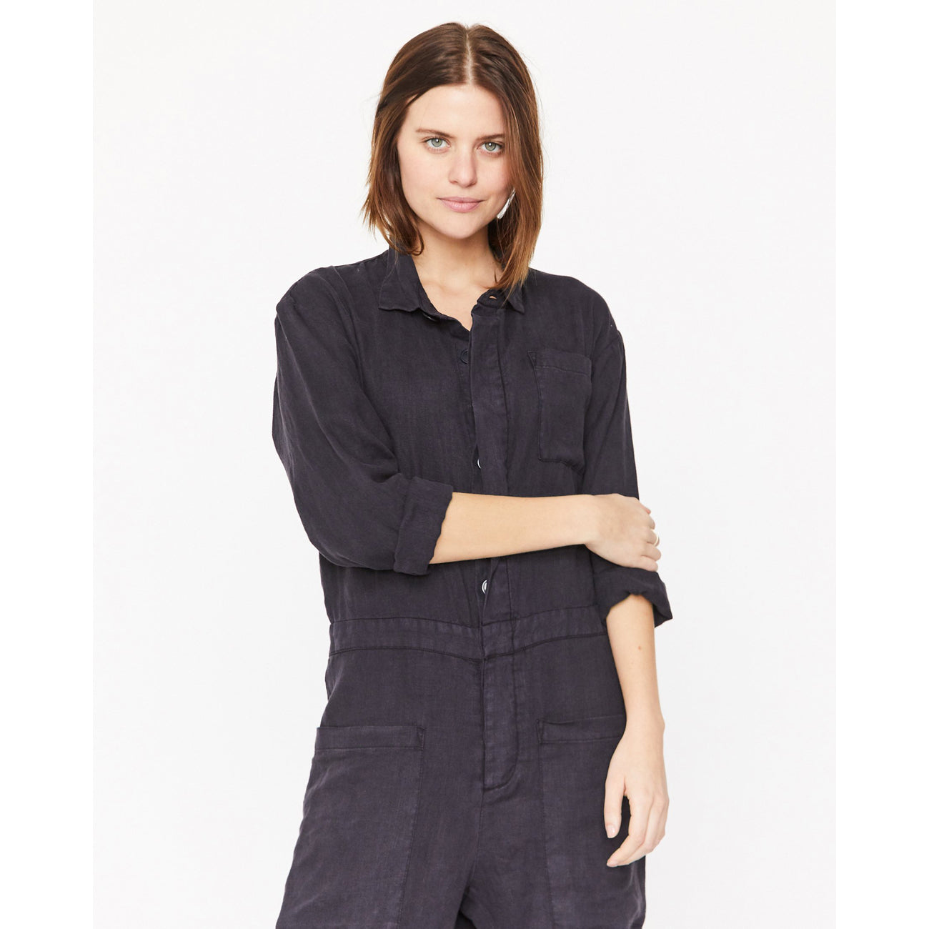 Esby Aaron Flight Suit in Midnight