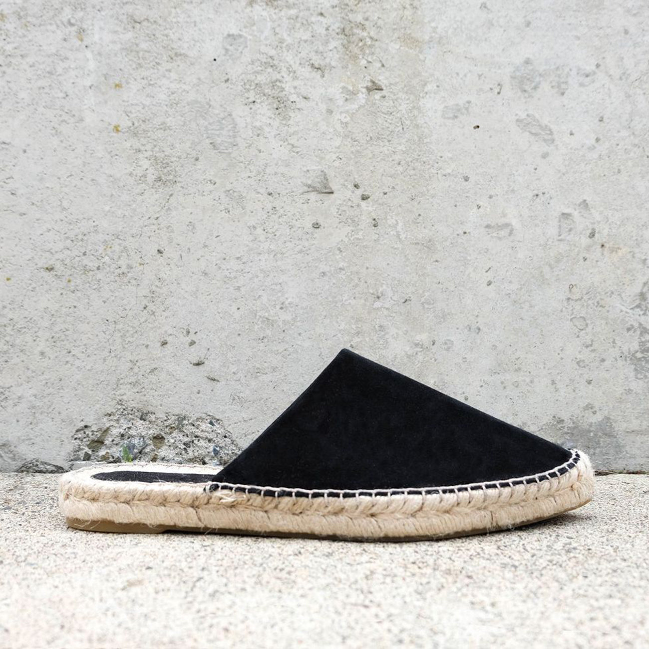 ziggy espadrille in black