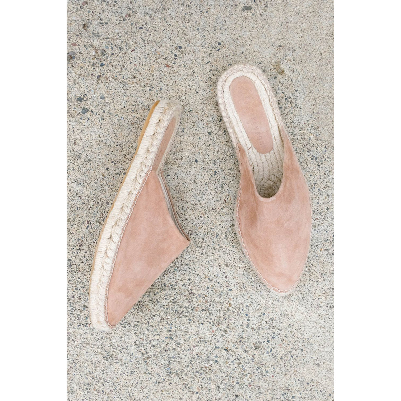 ziggy espadrille in taupe