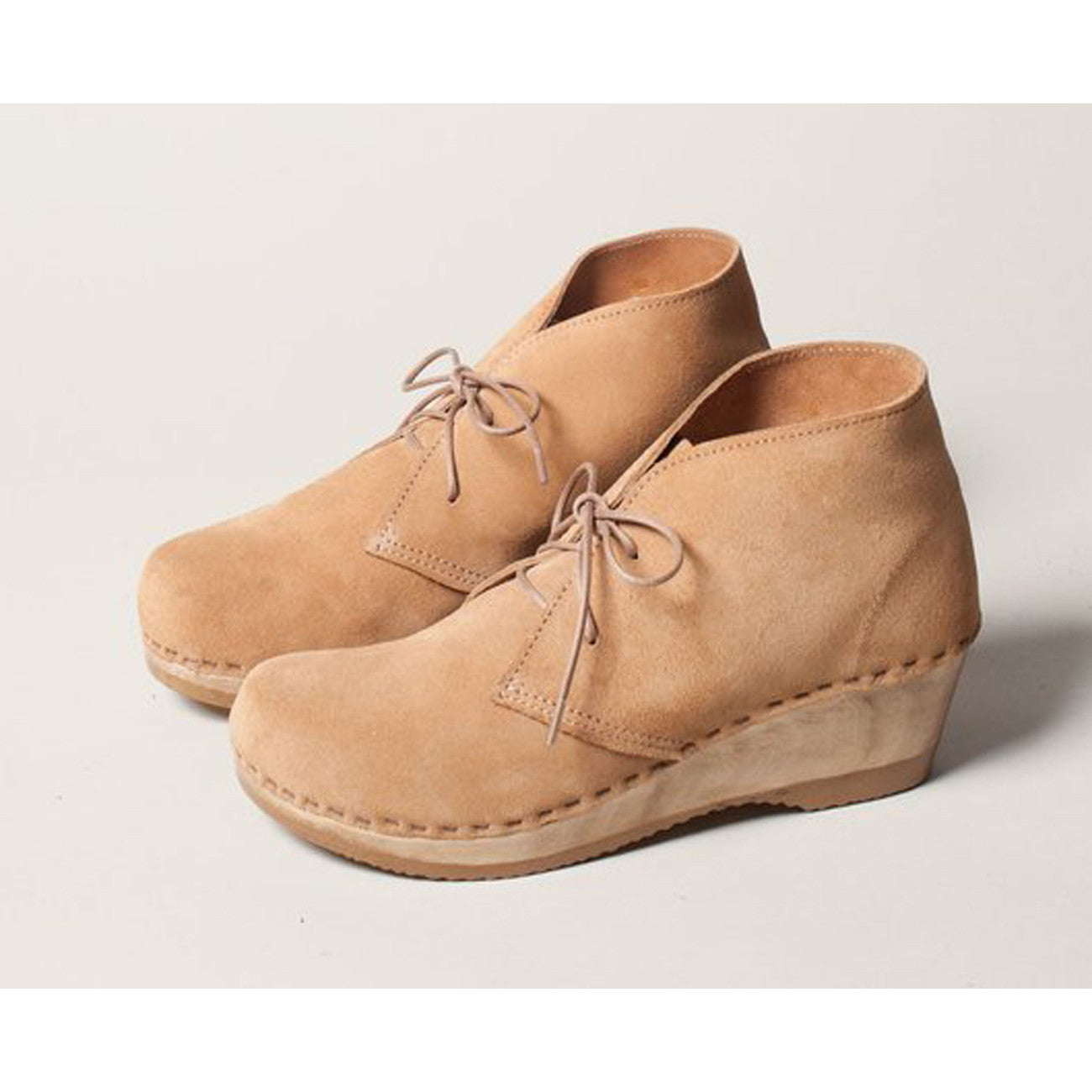 No.6 Garcia Boot in Sand Suede