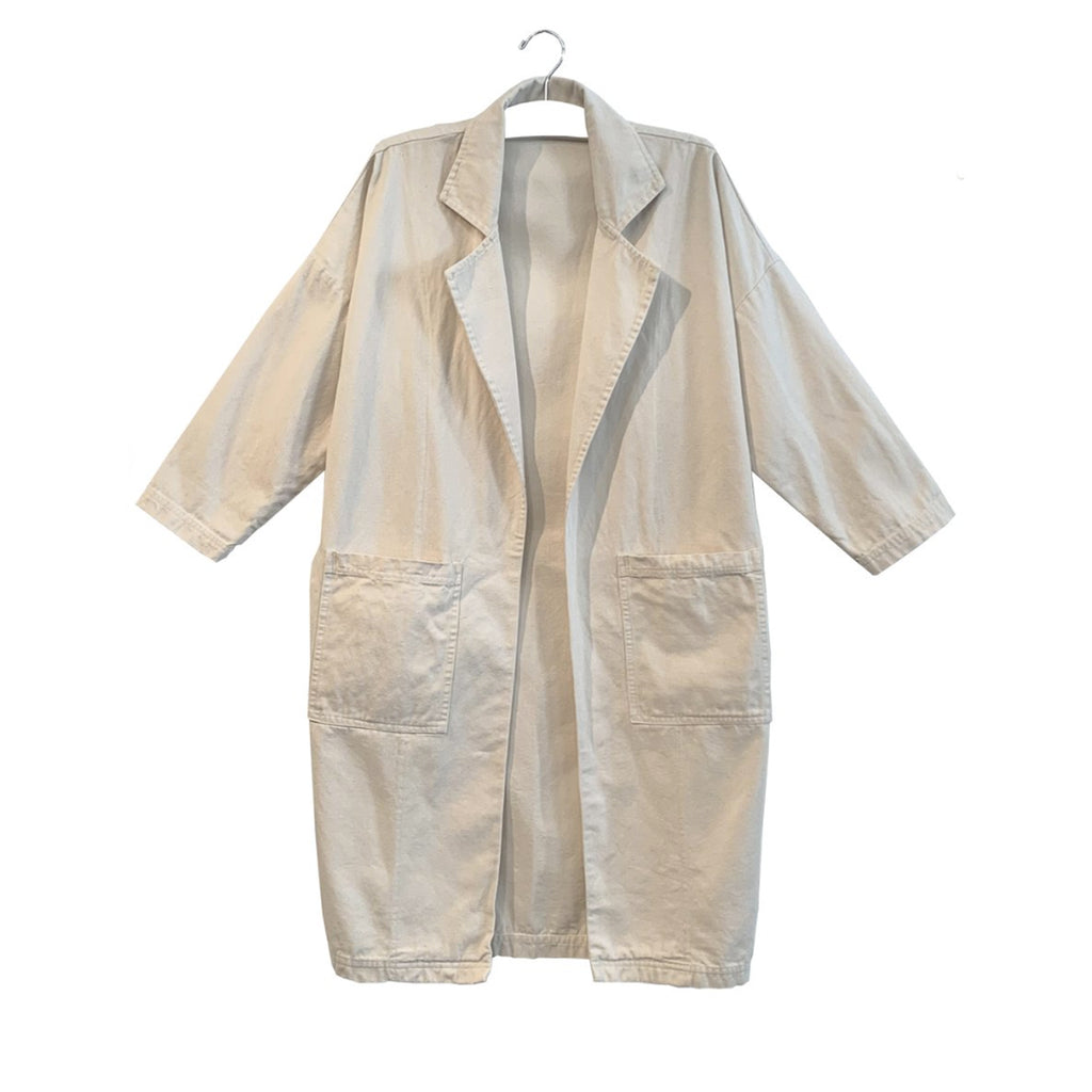 patti canvas easy jacket in natural