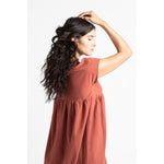 ondine dress in clay