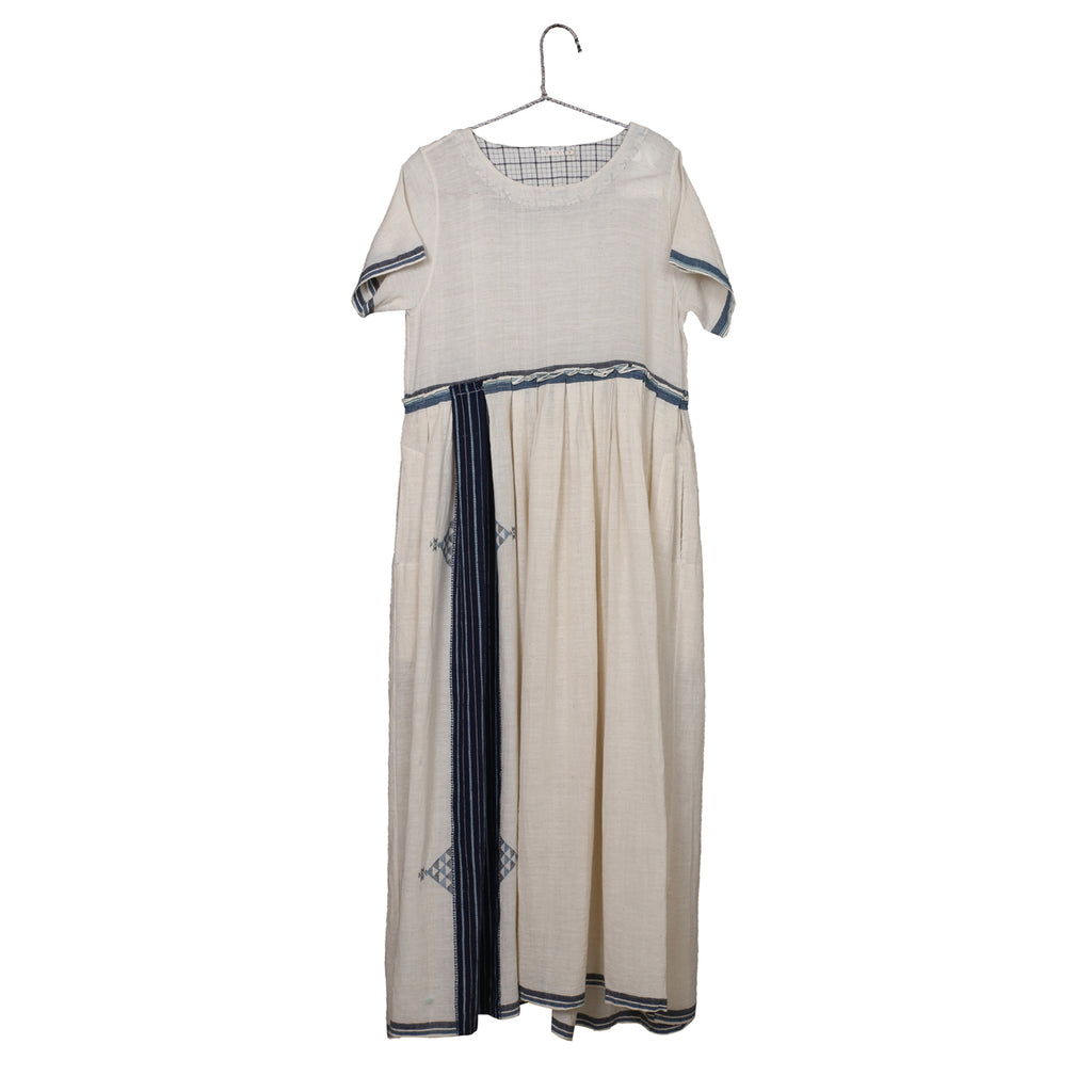 handwoven organic cotton dress
