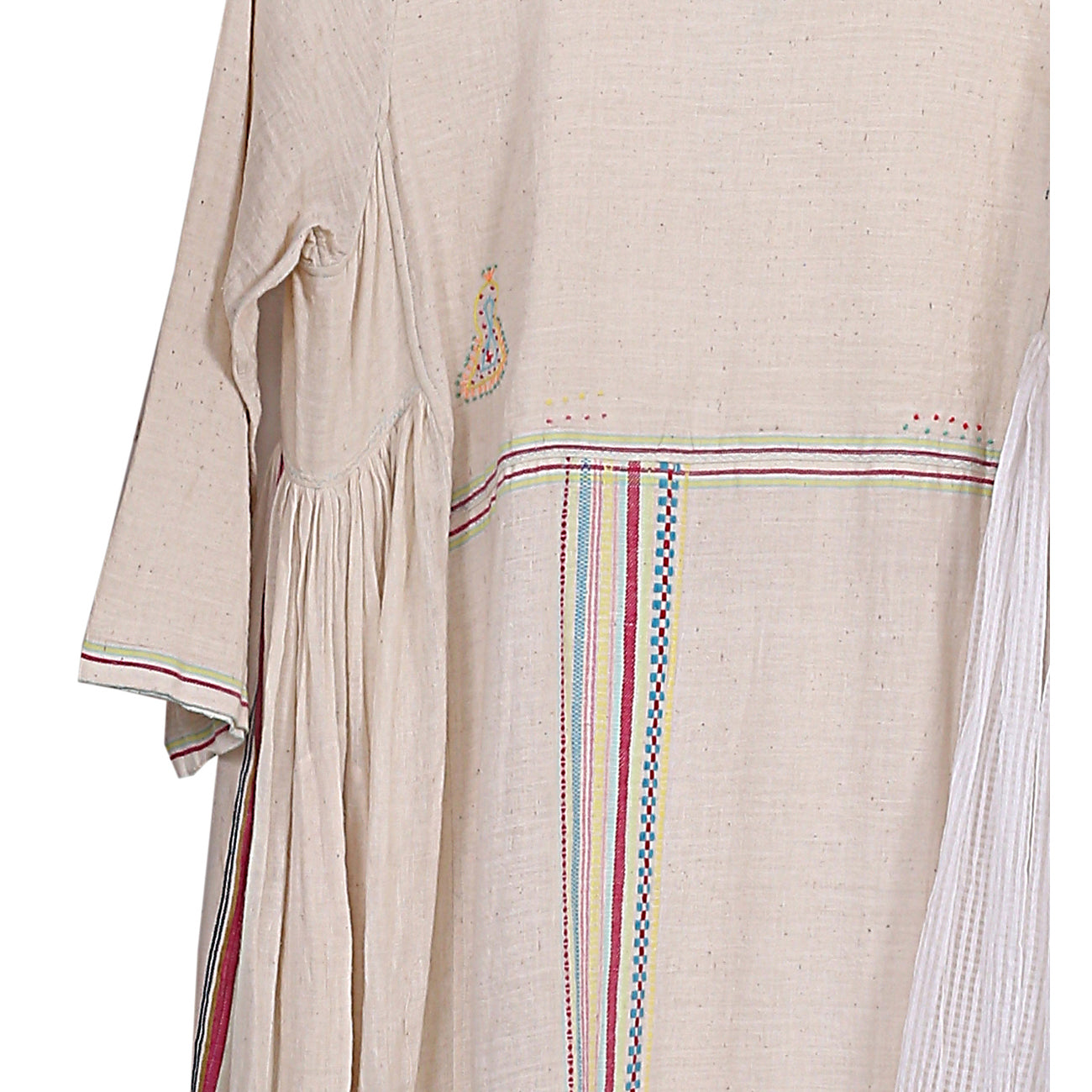handwoven dress w/ embroidery