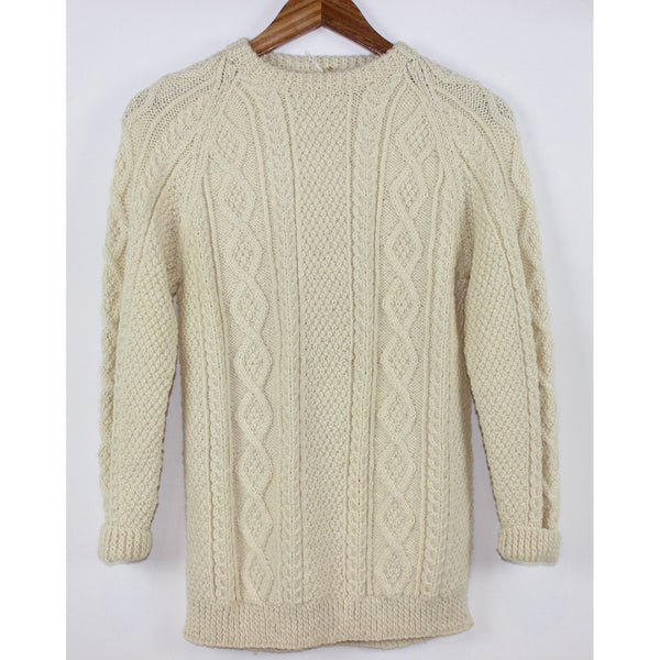 Ivory Fisherman Sweater