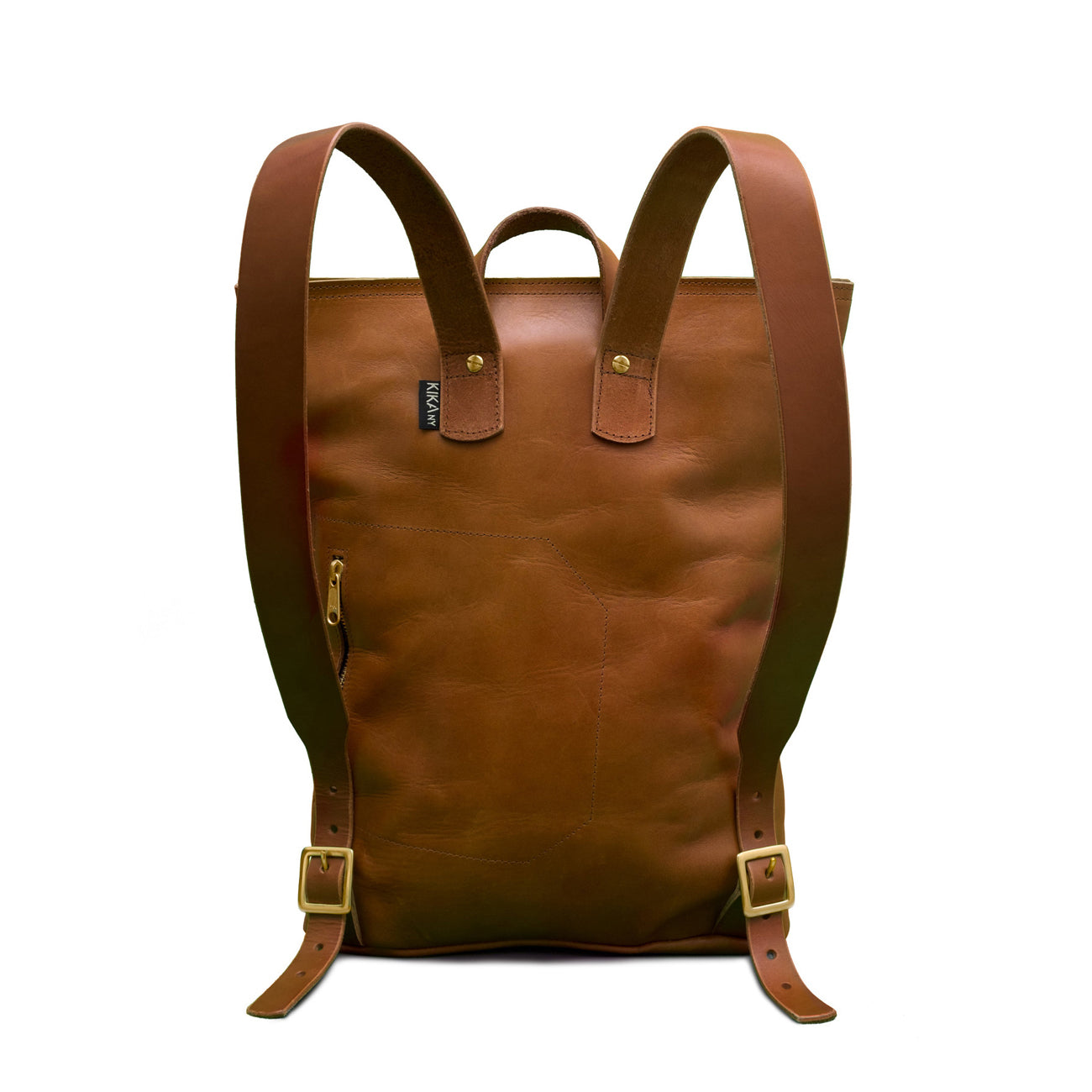 harvest backpack in tan