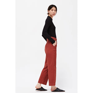 max trousers in brick