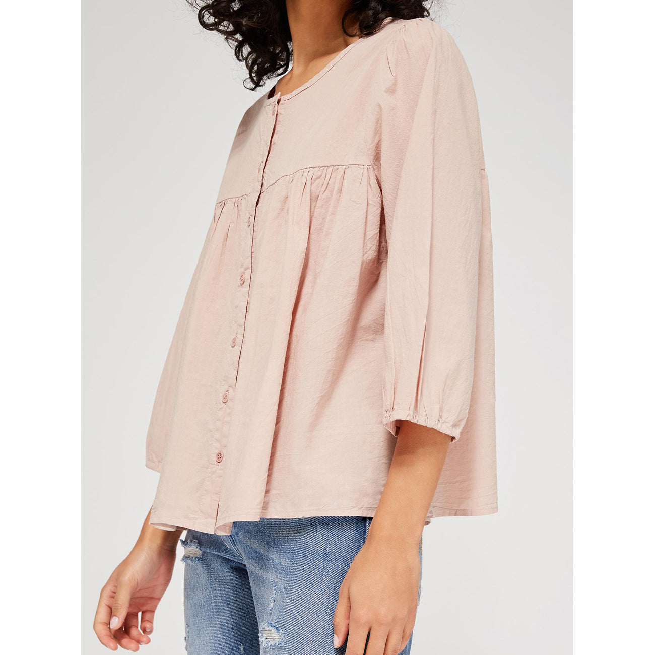 Lacausa Hayden Blouse in Muse